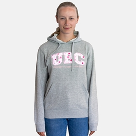Sweatshirt - Hoodie - Women's Cherry Blossom Grey