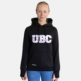 Sweatshirt - Hoodie - Women's Cherry Blossom Black