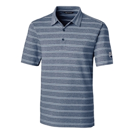 Shirt - Men's - UBC Executive Polo Forge Heather Stripe