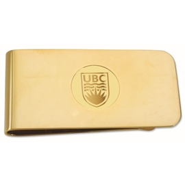 Money Clip - UBC  Gold Plated