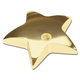 Paperweight - UBC Star Gold Plated