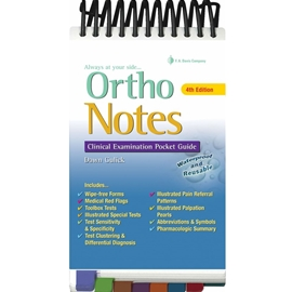 ORTHO NOTES : CLINICAL EXAMINATION POCKET GUIDE 4TH ED