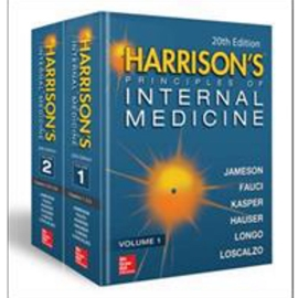 2 VOL SET HARRISON'S PRINCIPLES OF INTERNAL MEDICINE - 20TH EDN VOL 1 AND 2