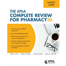 APHA COMPLETE REVIEW FOR PHARMACY 12TH ED