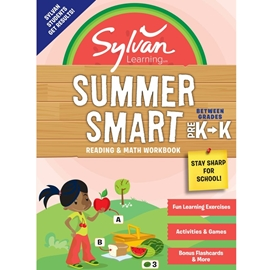 BETWEEN GRADES PRE K AND KINDERGARTEN : SYLVAN SUMMER SMART READING AND MATH WORKBOOK