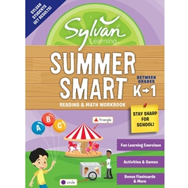 BETWEEN GRADES K AND 1 : SYLVAN SUMMER SMART READING AND MATH WORKBOOK