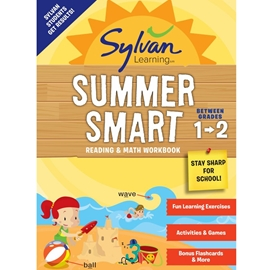 BETWEEN GRADES 1 AND 2 : SYLVAN SUMMER SMART READING AND MATH WORKBOOK