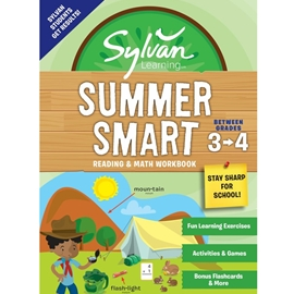 BETWEEN GRADES 3 AND 4 : SYLVAN SUMMER SMART READING AND MATH WORKBOOK