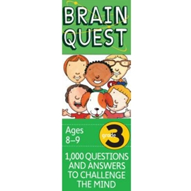 BRAIN QUEST DECK FOR GRADE 3 4TH ED