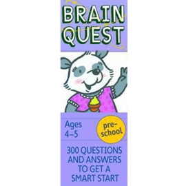 BRAIN QUEST DECK FOR PRESCHOOL 4TH ED