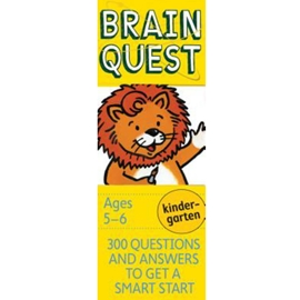 BRAIN QUEST DECK FOR KINDERGARTEN 4TH ED