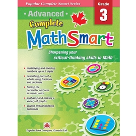 ADVANCED COMPLETE MATHSMART : GRADE 3
