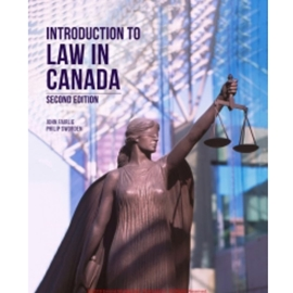INTRODUCTION TO LAW IN CANADA 2ND EDN
