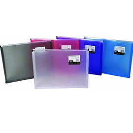 Filing - Sasaki Zipper Envelope Assorted Colours