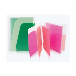 Filing - Sasaki Wave 5 Pocket Plus Zipper Envelope Holder Assorted Colours