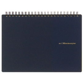Notebook - Maruman Mnemosyne Poly Black Blank A5