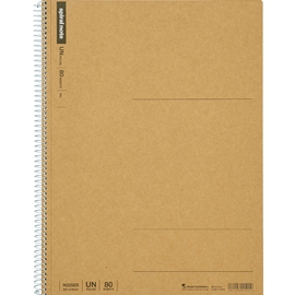 Notebook - Maruman Basic Kraft Blank A4