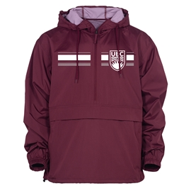Jacket - Packable Anorak Maroon