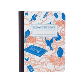Notebook - Decomposition Books Bird Song
