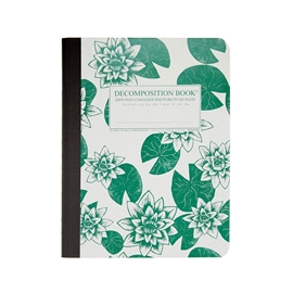 Notebook - Decomposition Books Lily Pads