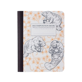 Notebook - Decomposition Books Manatea
