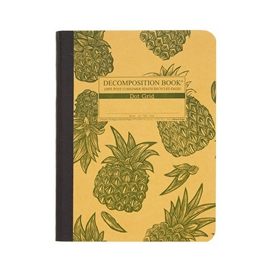 Notebook - Decomposition Books Pineapple Dot Grid