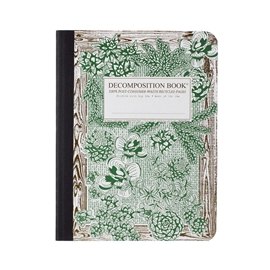 Notebook - Decomposition Books Succulent Garden
