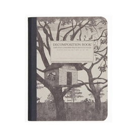 Notebook - Decomposition Books Tree House