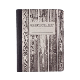 Notebook - Decomposition Books Woodgrain