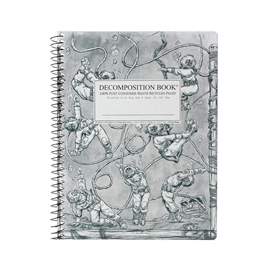 Notebook - Decomposition Books Coilbound Deep Stretch