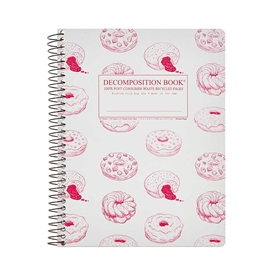 Notebook - Decomposition Books Coilbound Donut Time