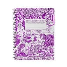 Notebook - Decomposition Books Coilbound Fairy Tale Forest