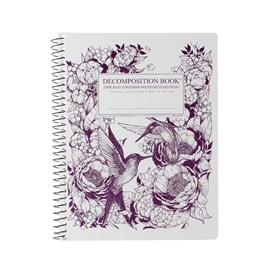 Notebook - Decomposition Books Coilbound Hummingbirds