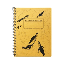 Notebook - Decomposition Books Coilbound King Penguins
