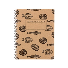 Notebook - Decomposition Books Coilbound Loaves & Fishes