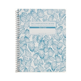 Notebook - Decomposition Books Coilbound Oysters