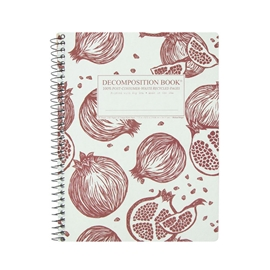 Notebook - Decomposition Books Coilbound Pomegranates