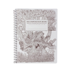 Notebook - Decomposition Books Coilbound Screech Owls