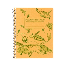 Notebook - Decomposition Books Coilbound Sea Turtles