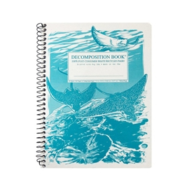 Notebook - Decomposition Books Coilbound Spotted Eagle Rays