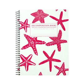 Notebook - Decomposition Books Coilbound Starfish