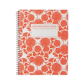 Notebook - Decomposition Books Coilbound Sunflowers