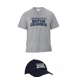 Bundle - Hat and Tee - Navy Hat, Grey T-shirt