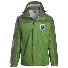 Jacket - Unisex Monsoon Rain Mountain Green