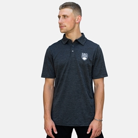 Polo Shirt - UBC Crown Luxe Melange Black