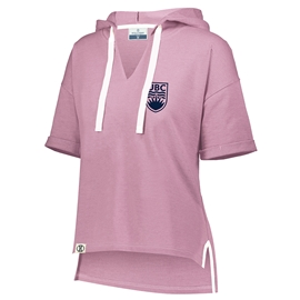 Sweatshirt - Hoodie - Women's Sophomore Short Sleeve Dusty Rose