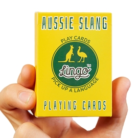 "Game - Lingo Playing Cards: Aussie Slang <font color = ""red"">On Sale</font>"