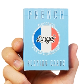 "Game - Lingo Playing Cards: French <font color = ""red"">On Sale</font>"