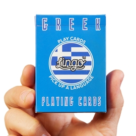 "Game - Lingo Playing Cards: Greek <font color = ""red"">On Sale</font>"