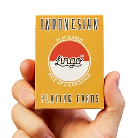 "Game - Lingo Playing Cards: Indonesian <font color = ""red"">On Sale</font>"